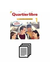 Quartier Libre 1. Hanganyagok szövege