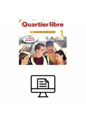 Quartier libre 1. Livre de l'éléve Online lapozható  verzió