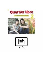 Quartier libre 2. Livre de l'éléve Online lapozható  verzió