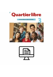 Quartier libre 3. Livre de l'éléve  Online lapozható  verzió