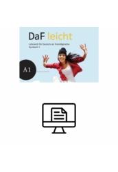 DaF leicht - Online interaktív teszt