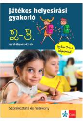 Játékos helyesírási gyakorló 2-3. osztályosoknak
