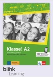 Klasse! A2 Kursbuch - Digitale Ausgabe mit LMS - Tanulói verzió