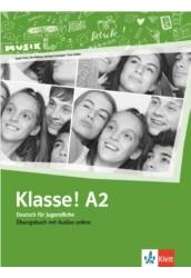 Klasse! A2 Übungsbuch mit Audios online