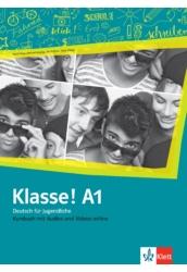 Klasse! A1 Kursbuch mit Audios und Videos online