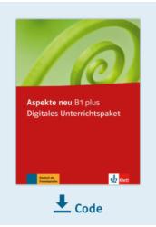 Aspekte neu B1 Plus Digitales Unterrichtspaket