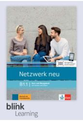 Netzwerk neu B1.1 Kursbuch Digitale Ausgabe mit LMS Tanári verzió