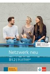 Netzwerk neu B1.2 Kurs- und Übungsbuch mit Audios und Videos