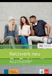 Netzwerk neu A2.2 Kurs- und Übungsbuch mit Audios und Videos