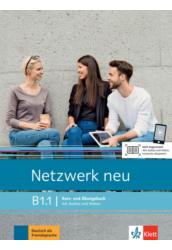 Netzwerk neu B1.1 Kurs- und Übungsbuch mit Audios und Videos
