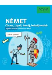 PONS Olvass izgulj tanulj haladj tovább - Német nyelvkönyv