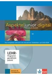 Aspekte junior B2 Lehrwerk digital