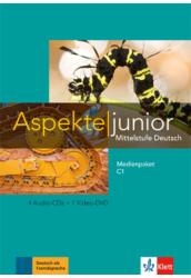 Aspekte junior C1 Kursbuch mit Audios und Clips online