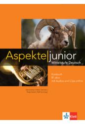 Aspekte junior B1 plus Kursbuch mit Audios und Clips online