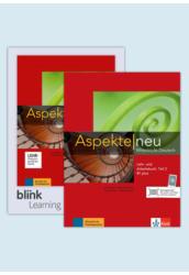 Aspekte neu B1 plus B1.2 Kurs- und Übungsbuch Teil 2mit Audios Videos inklusive