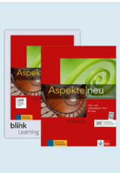 Aspekte neu B1 plus B1.1 Kurs- und Übungsbuch Teil 1 mit Audios Videos inklusive