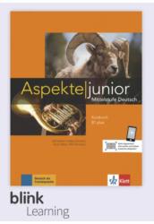 Aspekte junior B1 Plus Kursbuch - Digitale Ausgabe mit LMS - Tanulói verzió