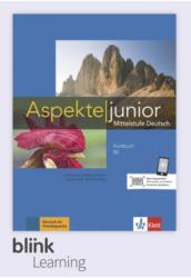 Aspekte junior B2 Kursbuch - Digitale Ausgabe mit LMS - Tanári verzió