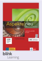 Aspekte neu B1 Plus Kursbuch Digitale Ausgabe mit LMS Tanári verzió