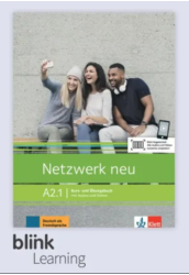 Netzwerk neu A2.1 Kursbuch Digitale Ausgabe mit LMS Tanulói verzió