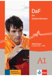 DaF im Unternehmen A1 Médiacsomag (2 Audio CD + DVD)