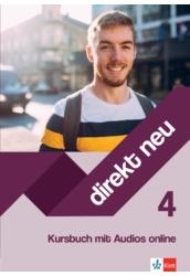 Direkt Neu Kursbuch 4 mit Audios online