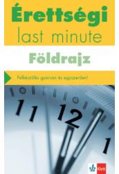 Érettségi Last minute - Földrajz
