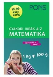 PONS Gyakori hibák A Z  Matematika