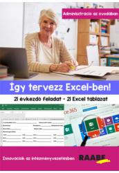 Így tervezz Excel ben!