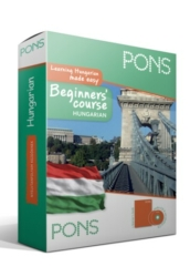 PONS Beginners' Course – Hungarian (könyv+CD) ÚJ