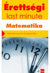 Érettségi Last minute - Matematika