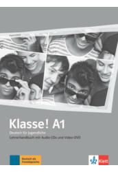 Klasse! A1 Lehrerhandbuch mit 4 Audio-CDs und 1 Video-DVD