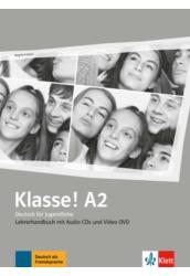 Klasse! A2 Lehrerhandbuch mit 4 Audio-CDs und 1 Video-DVD