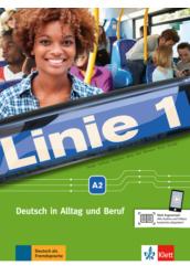 Linie 1. A2 Kurs  und Übunsbuch mit DVD ROM