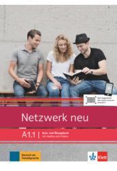 Netzwerk neu A1.1 Kurs  und Übungsbuch mit Audios und Videos