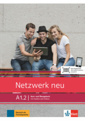 Netzwerk neu A1.2 Kurs  und Übungsbuch mit Audios und Videos