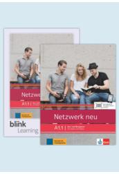 Netzwerk neu A1.1 Kurs  und Übungsbuch mit Audios Videos inklusive