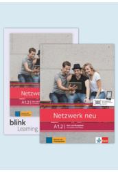 Netzwerk neu A1.2 Media Bundle Kurs  und Übungsbuch mit Audios und Videos inklusive Lizenzcode
