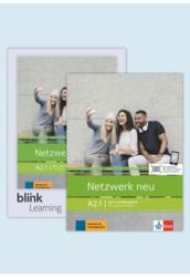 Netzwerk neu A2.1 Media Bundle Kurs- und Übungsbuch mit Audios Videos
