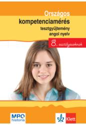 Országos kompetenciamérés tesztgy. Angol nyelv   8. oszt.
