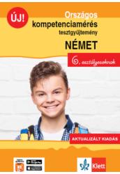 Országos kompetenciamérés tesztgy. NÉMET nyelv  6. oszt.  Aktualizált kiadás és Ingyenes Applikáció
