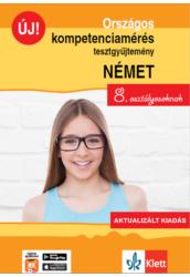Országos kompetenciamérés tesztgy. NÉMET nyelv  8. oszt.  Aktualizált kiadás és Ingyenes Applikáció