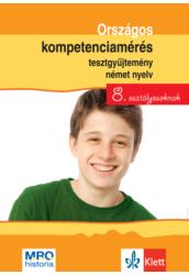 Országos kompetenciamérés tesztgy. Német nyelv   8. oszt.