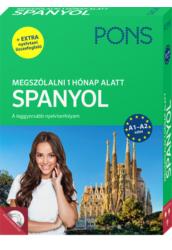 PONS Megszólalni 1 hónap alatt SPANYOL Könyv CD és ONLINE hanganyag