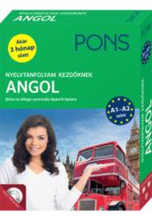 PONS Nyelvtanfolyam Kezdőknek ANGOL plusz ONLINE hanganyag