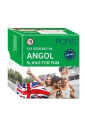 PONS Szókártyák Angol Slang for Fun 333 Szó