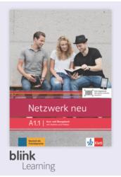 Netzwerk neu A1.1 Kursbuch Digitale Ausgabe mit LMS Tanulói verzió