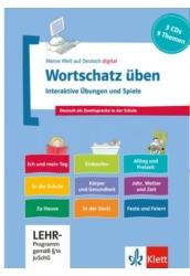 Wortschatz üben: Interaktive Übungen und Spiele 3 CD-ROMs + Booklet