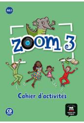Zoom 3   Cahier d'activités et CD