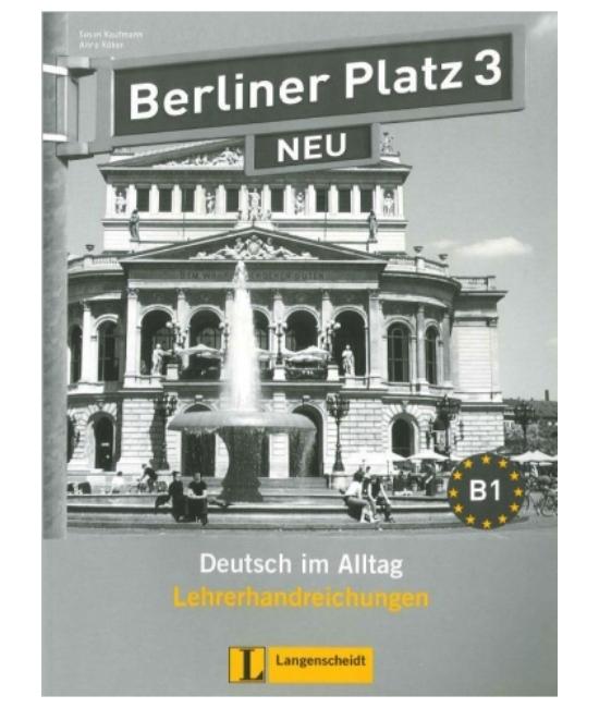 Berliner Platz 3 Neu Lehrerhandreichungen